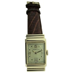 Tiffany by I.W.C. 14 Kt. Solid Gold with Original Dial with Solid Gold Numerals