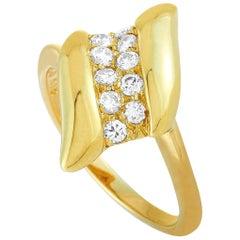Tiffany & Co. 0.25 Carat Diamond Yellow Gold Ring