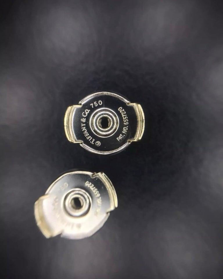 Tiffany & Co. 0,50 CTW Diamant Belgien Metro In & Out Creolen in 18K 3