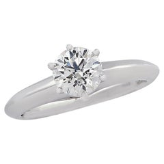 Tiffany & Co. 0.80 Carat Diamond Engagement Ring