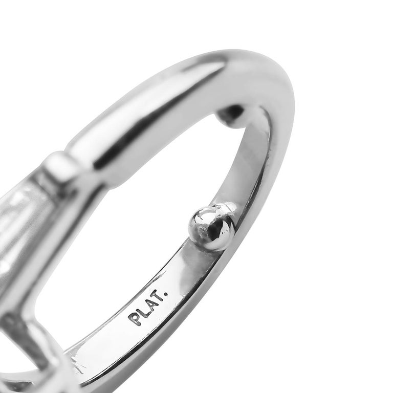 Tiffany & Co. 12.20 F VVS1 GIA Pear Shape Engagement Ring with Band For Sale 7