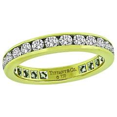 Tiffany & Co 1.25 Carat Diamond Eternity Wedding Band