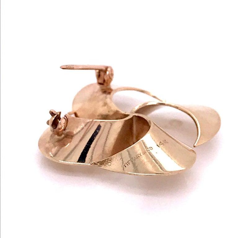 Tiffany & Co. 14 Karat Gold Modern Pin-Wheel Brooch or Pin For Sale 7