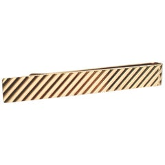Tiffany & Co. 14 Karat Gold Modern Tie Clip or Tie Bar