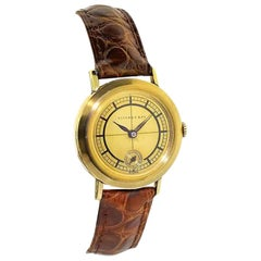 Tiffany & Co. 14 Karat Solid Yellow Gold Vintage Watch, circa 1930s
