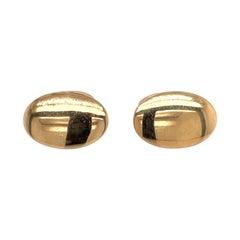 Tiffany & Co. 14 Karat Yellow Gold Cufflinks 9.9 Grams