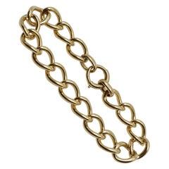 Tiffany & Co. 14k Yellow Gold Link Bracelet Vintage & Rare