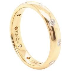 Tiffany & Co. 18 Karat Diamond Etoile Band Ring