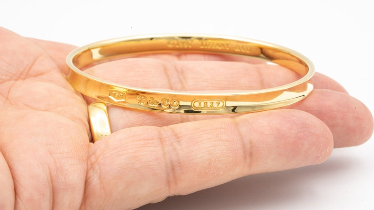 Women's or Men's Tiffany & Co. 18 Karat Gold