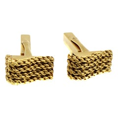 Tiffany & Co 18 Karat Gold Cuff-Links