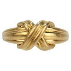Tiffany & Co. 18 Karat Gold Love Knot Ring