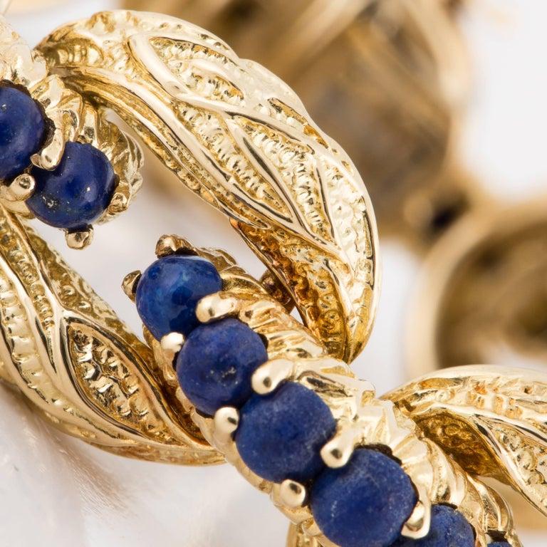 Tiffany & Co. 18 Karat Lapis Bracelet In Good Condition For Sale In Houston, TX