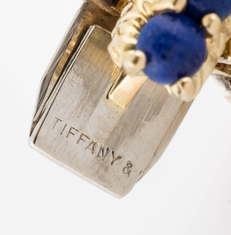 Women's or Men's Tiffany & Co. 18 Karat Lapis Bracelet For Sale