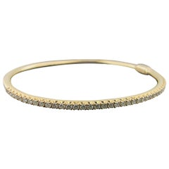 Tiffany & Co. 18 Karat Rose Gold and Diamond Bangle, 3.05 Carat