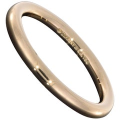 Tiffany & Co. 18 Karat Rose Gold Classic Rounded Gents Wedding Band