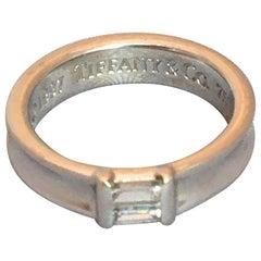Tiffany & Co. 18 Karat White Diamond Ring