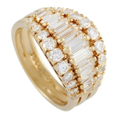 Tiffany & Co. 18 Karat Yellow Gold 1.50 Carat Diamond Ring