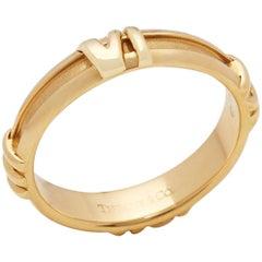 Tiffany & Co. 18 Karat Yellow Gold 1995 Atlas Band Ring