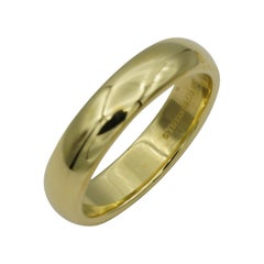 Tiffany & Co. 18 Karat Yellow Gold Band