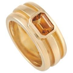 Tiffany & Co. 18 Karat Yellow Gold Citrine Ring
