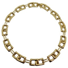 Tiffany & Co. 18 Karat Yellow Gold Collar Necklace