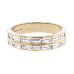 Tiffany & Co. 18 Karat Yellow Gold Diamond Ring