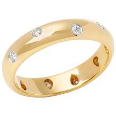 Tiffany & Co. 18 Karat Yellow Gold Etoile Ring