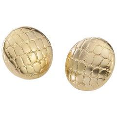 Tiffany & Co. 18 Karat Yellow Gold Ladies Earrings