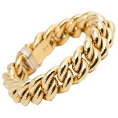 Tiffany & Co 18 Karat Yellow Gold Link Bracelet