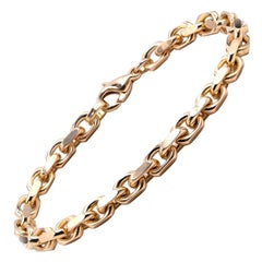 Tiffany & Co. 18 Karat Yellow Gold Oval Link Bracelet