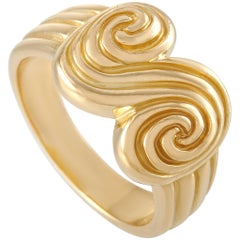 Tiffany & Co. 18 Karat Yellow Gold Ring