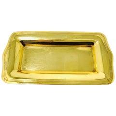 Tiffany & Co. 18 Karat Yellow Gold Tray