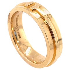 Tiffany & Co. 18 Karat Yellow Gold Wedding Ring / Band