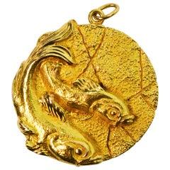 Tiffany & Co. 18 Karat Zodiac Pisces Pendant
