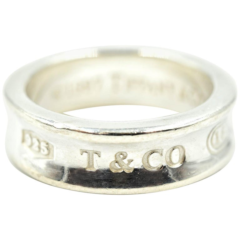 c585957055356 Tiffany & Co. 1837 Sterling Silver Ring