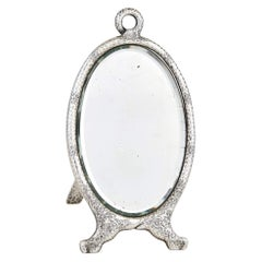 Tiffany & Co. 1881 Sterling Silver Japonesque Easel Mirror