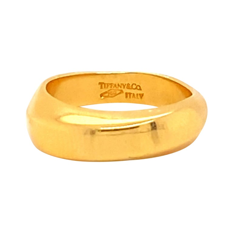 Tiffany & Co. 18k Gold Ring For Sale