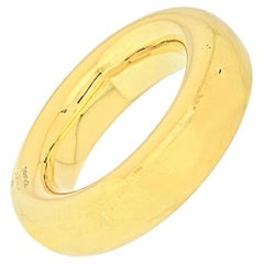 Tiffany & Co. 18K Yellow Gold Donut Bangle Bracelet