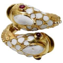 Tiffany & Co. Koi Fish Ring 18k Yellow Gold