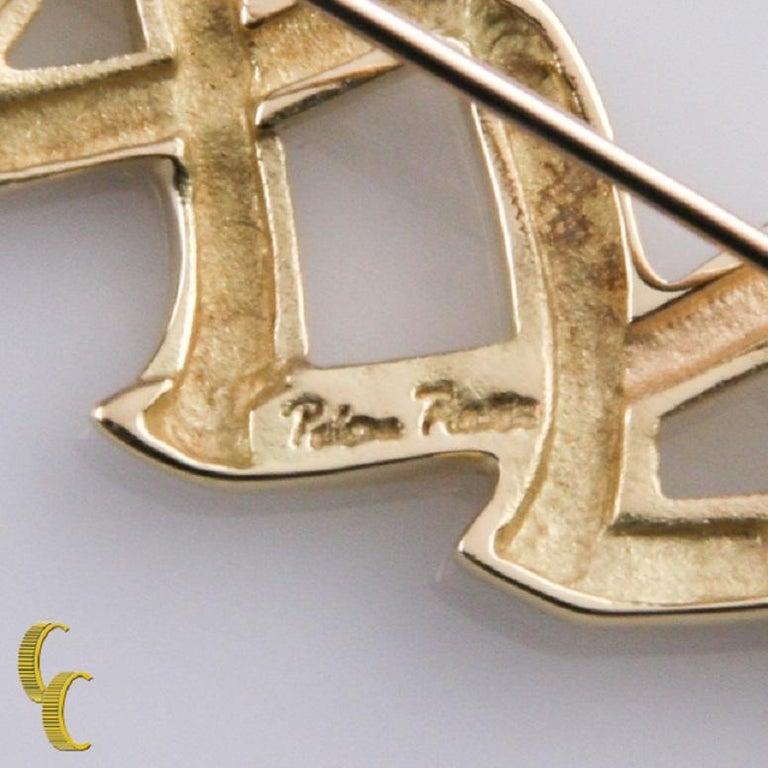 Women's Tiffany & Co. 18 Karat Yellow Gold Paloma Picasso