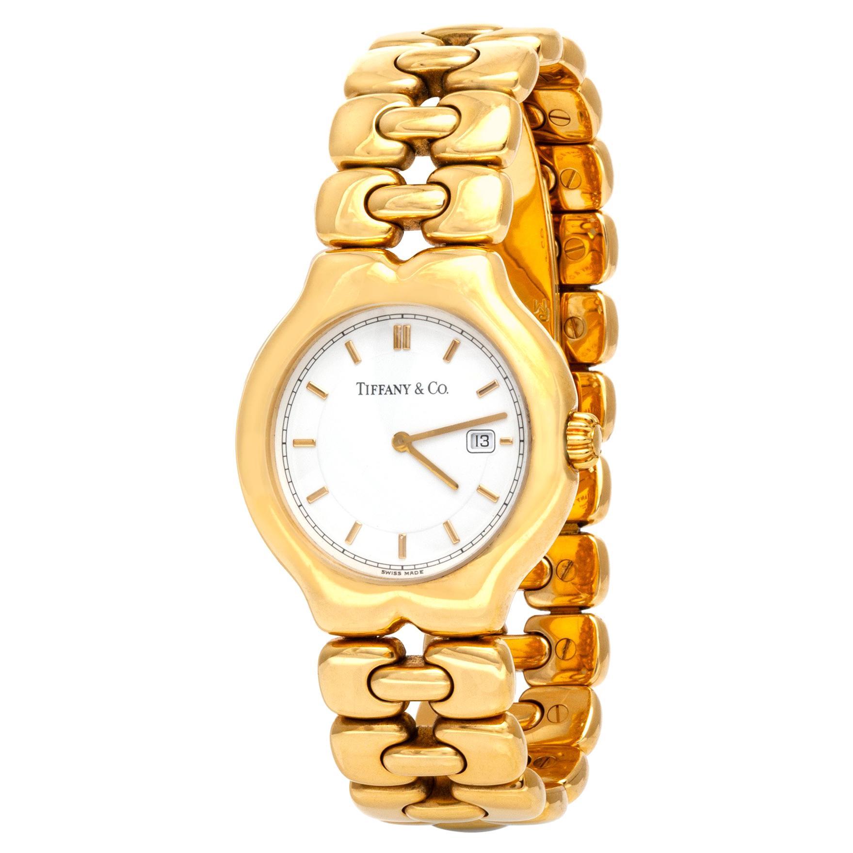 Tiffany & Co. 18 Karat Yellow Gold Watch
