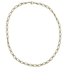 Tiffany & Co. 1970s Gold Link Necklace