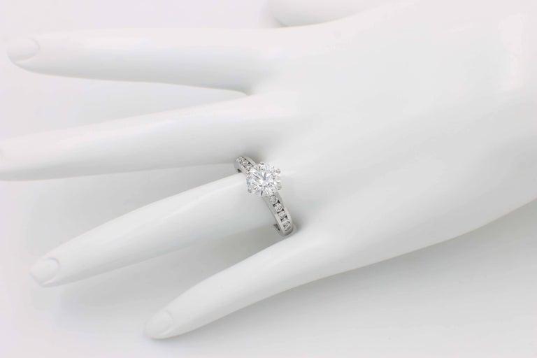c59cb8fe244 Tiffany   Co. 2.01 Carat F VVS1 Platinum Diamond Engagement Ring For Sale 3