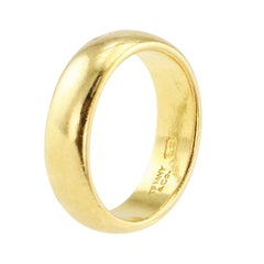 Tiffany & Co. 22 Karat Gold Antique Ring Band