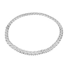 Tiffany & Co. 6.20 Carat Diamond White Gold Necklace