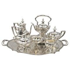 Tiffany & Co. 8-Piece Sterling Silver Tea / Coffee Service in Art Deco Style