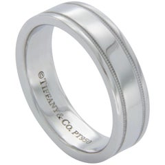 Tiffany & Co. 950 Platinum Wedding Band Ring