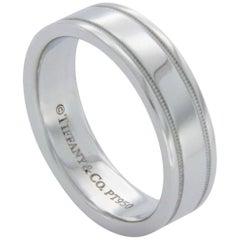 Tiffany & Co. 950 Platinum Wedding Band Ring
