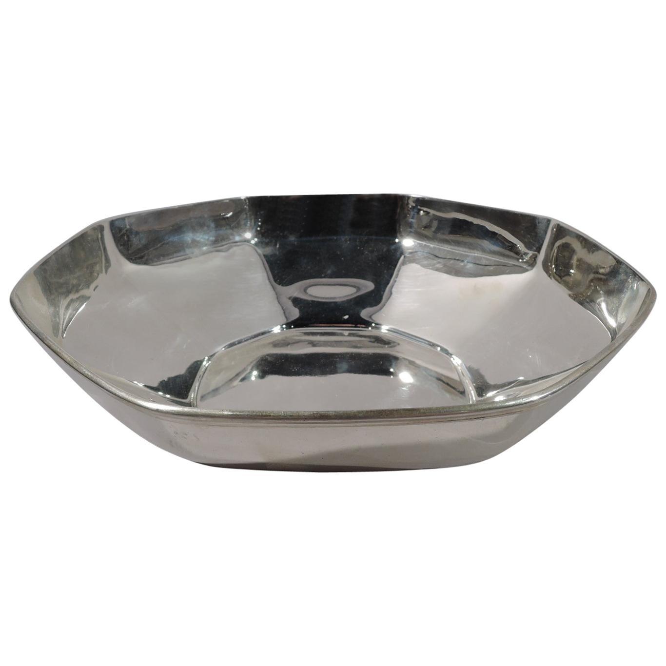 Tiffany & Co. American Art Deco Sterling Silver Bowl