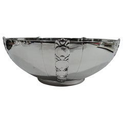 Tiffany & Co. American Modern Sterling Silver Tomato Bowl